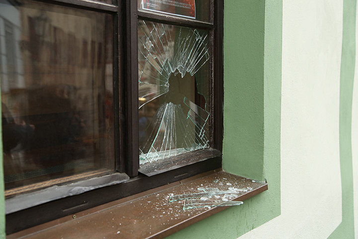 A2B Glass are able to board up broken windows while they are being repaired in Totteridge.